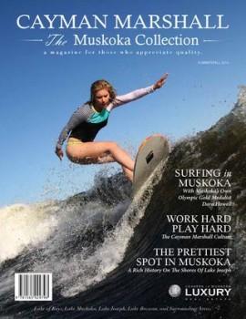 Cayman Marshall Muskoka Collection Summer 2014