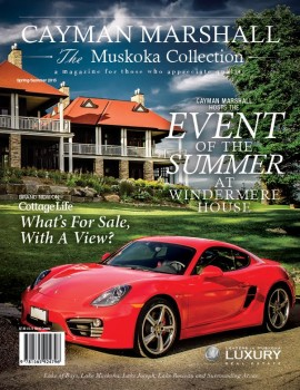 Cayman Marshall Muskoka Collection Spring 2015