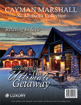 Muskoka Real Estate Summer 2015 Cover