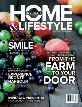 Invidiata Home & Lifestyle: Burlington & Oakville Edition, Sept/Oct 2015