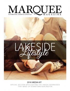 MarQuee Magazine Lakeside Living Media Kit