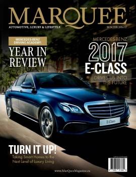 MarQuee Magazine – Winter 2016/17