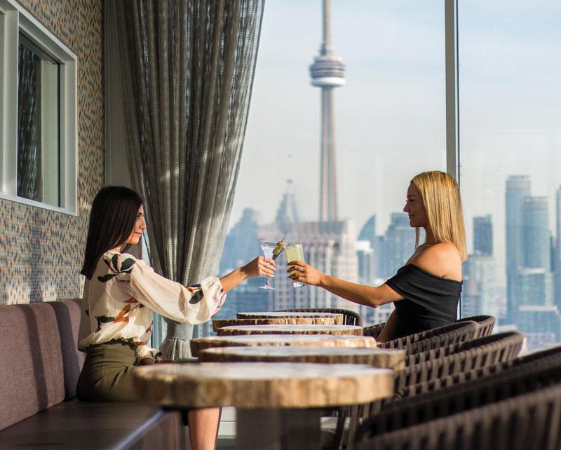 Ontario Staycation: Hotel X Toronto Restaurant