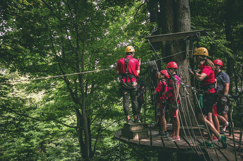 Ontario Staycation: Long Point Eco-Adventures Zip-Lining