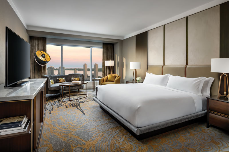 Ontario Staycation: Ritz-Carlton Toronto Hotel Room