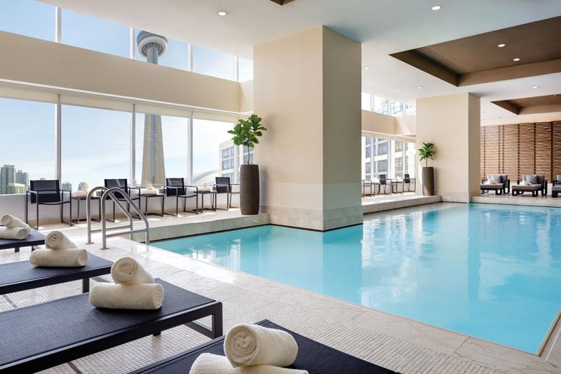 Ontario Staycation: Ritz-Carlton Toronto Pool