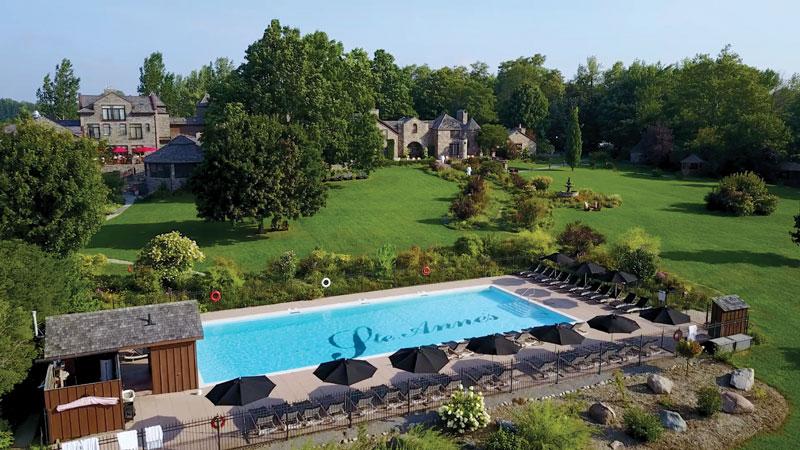 Ontario Staycation: Ste. Anne's Spa Summer